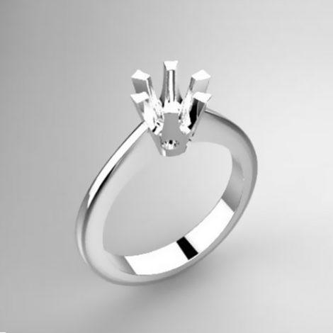 Montatura per anello solitario 40-SMALL