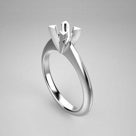 Montatura per anello solitario 7093-SMALL