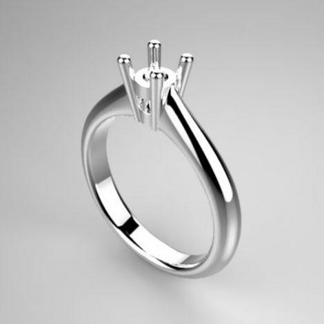 Montatura per anello solitario 7355-ECO