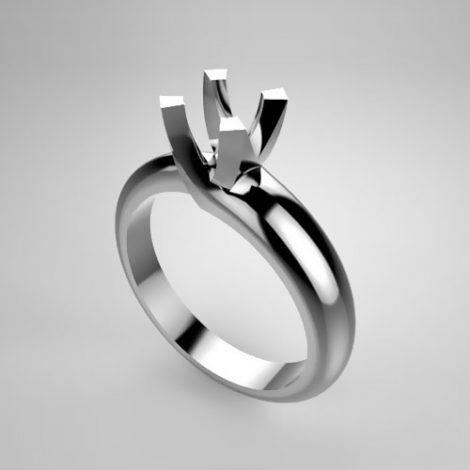 Montatura per anello solitario 7390-SMALL