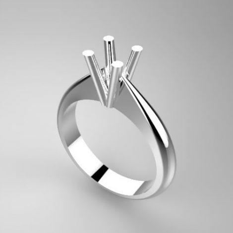 Montatura per anello solitario 7553-SMALL