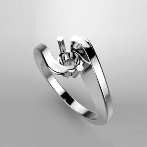 Montatura per anello solitario 7762-UNI