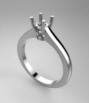 Montatura per anello solitario 7913-7532-SMALL
