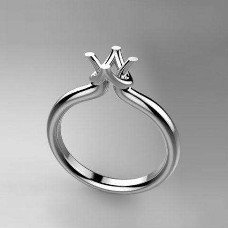 Montatura per anello solitario 8168-UNI