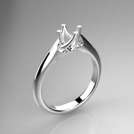 Montatura per anello solitario 8170-SMALL