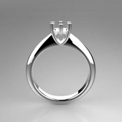 Montatura per anello solitario 8184-UNI