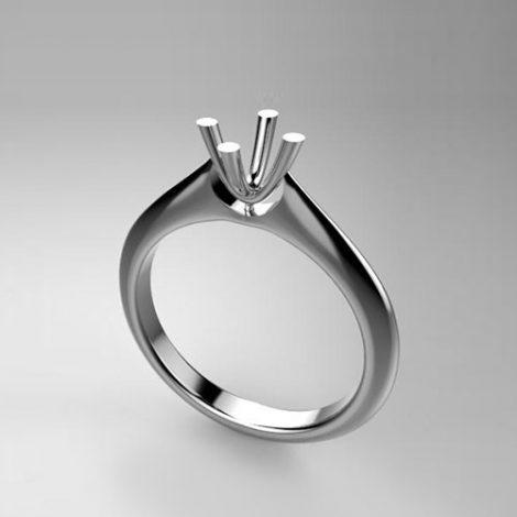 Montatura per anello solitario 8189