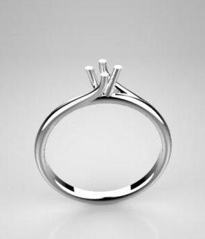 Montatura per anello solitario 8195-LG