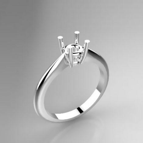 Montatura per anello solitario 8203-ECO