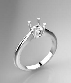 Montatura per anello solitario 8203-SMALL