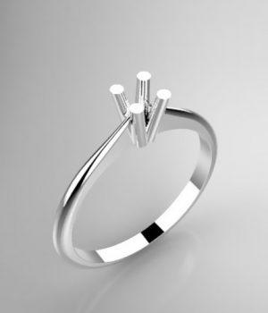 Montatura per anello solitario 8255-LG
