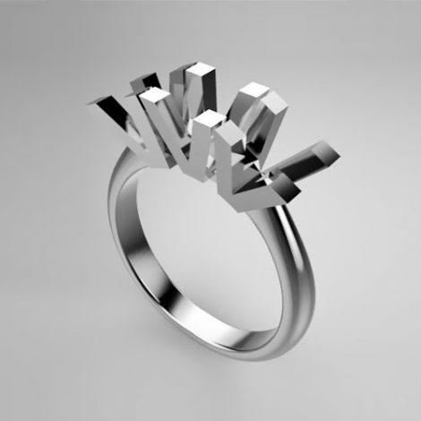 Montatura per anello trilogy 0145-ECO